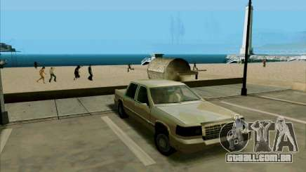 Uma limusine curta para GTA San Andreas