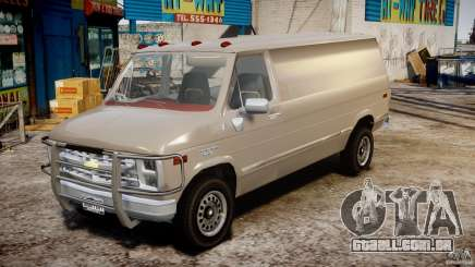 Chevrolet G20 Vans V1.1 para GTA 4