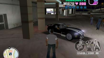 Dodge Viper Hennessy 800 para GTA Vice City
