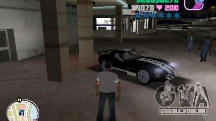 Dodge Viper Hennessy 800 para GTA Vice City