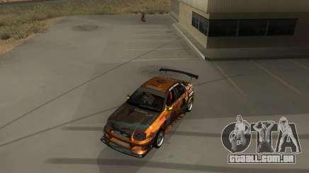 Subaru Impreza WRX Team Orange DRIFT SA-MP para GTA San Andreas