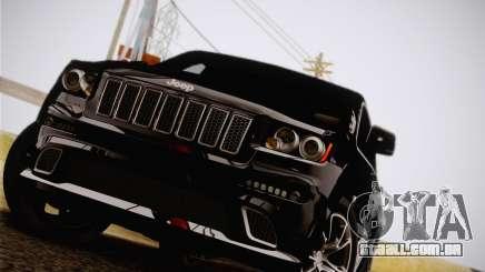 Jeep Grand Cherokee SRT-8 2012 para GTA San Andreas