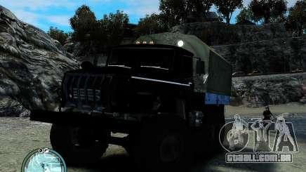 Ural 4320 para GTA 4