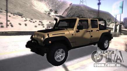 Jeep Wrangler Rubicon Unlimited 2012 para GTA San Andreas