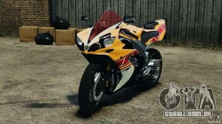 Yamaha YZF-R1 2012 para GTA 4