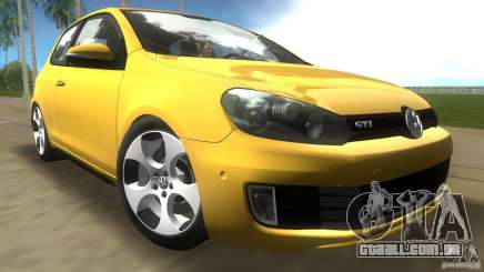 Volkswagen Golf 6 GTI para GTA Vice City