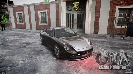 Comet FBI car para GTA 4