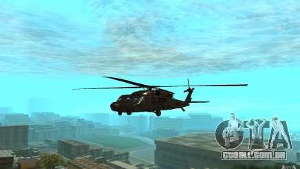 MH-60L Blackhawk para GTA San Andreas