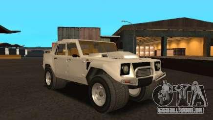 Lamborghini LM-002 para GTA San Andreas