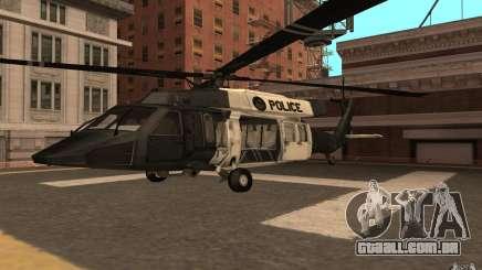 Black Hawk from BO2 para GTA San Andreas