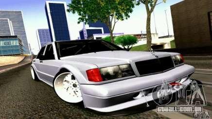 Mercedes-Benz 190E Drift para GTA San Andreas