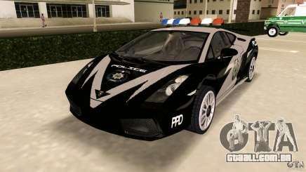 Lamborghini Gallardo Police para GTA Vice City