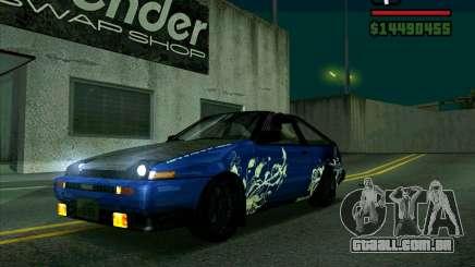 Toyota Trueno AE86 V3.0 para GTA San Andreas