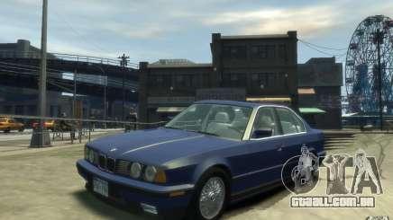 BMW 535i (E34) para GTA 4