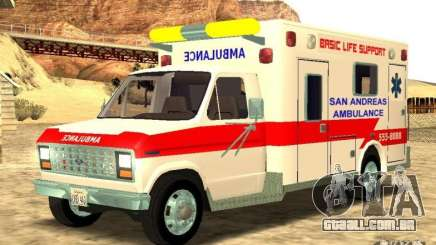 Ford Econoline Ambulance para GTA San Andreas