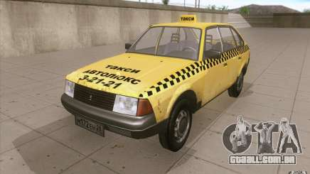 AZLK Moskvich 2141 táxi v2 para GTA San Andreas