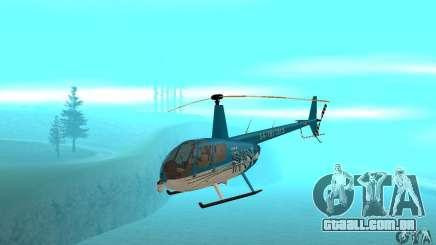 Robinson R44 Raven II NC 1.0 TV para GTA San Andreas