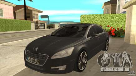 Peugeot 508 2011 EU plates para GTA San Andreas