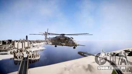 MH-53 Pavelow v1.1 para GTA 4