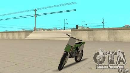 Kawasaki KX250 para GTA San Andreas