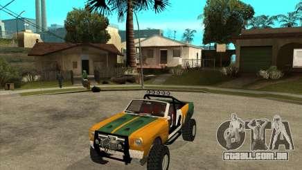 Ford Mustang Sandroadster para GTA San Andreas