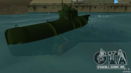 Seehund Midget Submarine skin 1 para GTA Vice City