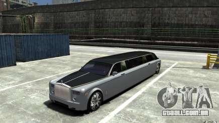 Rolls-Royce Phantom Sapphire Limousine v.1.2 para GTA 4