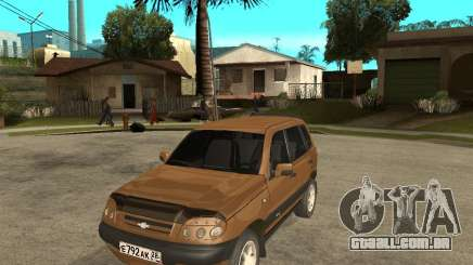 CHEVROLET NIVA Version 2.0 para GTA San Andreas