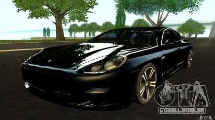 Porsche Panamera Turbo para GTA San Andreas
