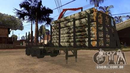 Reboque MAZ 99864 para GTA San Andreas