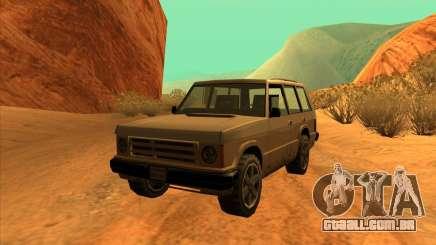 Huntley 1987 San Andreas Stories para GTA San Andreas