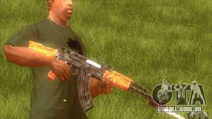 Kalashnikov HD para GTA San Andreas