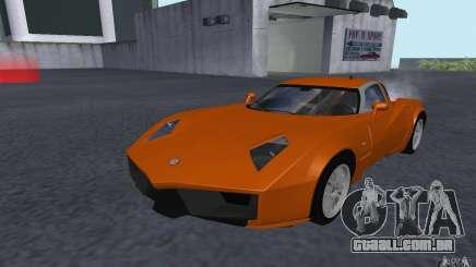 Spada Codatronca TS Concept 2008 para GTA San Andreas