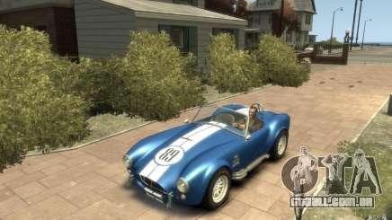 Shelby Cobra 427 SC 1965 para GTA 4
