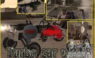 Turbo car v.2.0 para GTA San Andreas