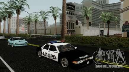 Sunrise Police LV para GTA San Andreas