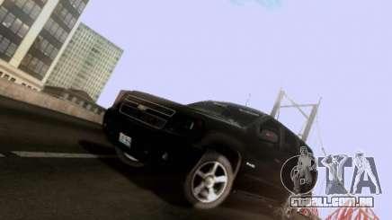 Chevrolet Tahoe 2009 Unmarked para GTA San Andreas
