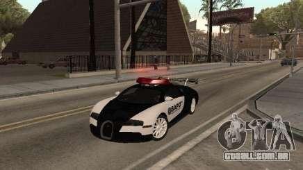 Bugatti Veyron Police para GTA San Andreas