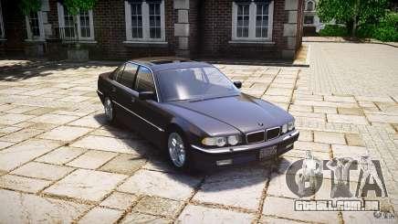 BMW 740i (E38) style 37 para GTA 4