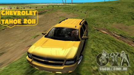 Chevrolet Tahoe 2011 para GTA Vice City