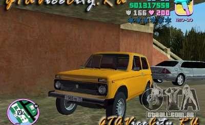 O Niva VAZ 21213 para GTA Vice City