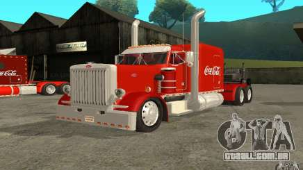 Peterbilt 379 Custom Coca Cola para GTA San Andreas