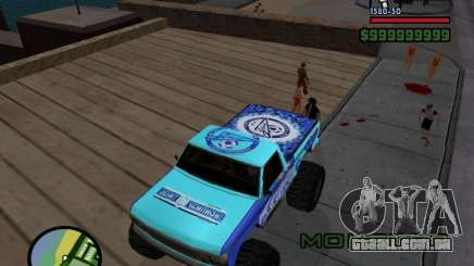 Um monstro no estilo do FC ZENIT para GTA San Andreas
