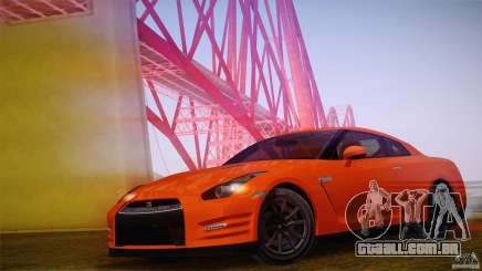 Nissan GTR R35 Tunable v2 para GTA San Andreas
