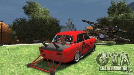 2103 VAZ chão sob o arrasto para GTA 4