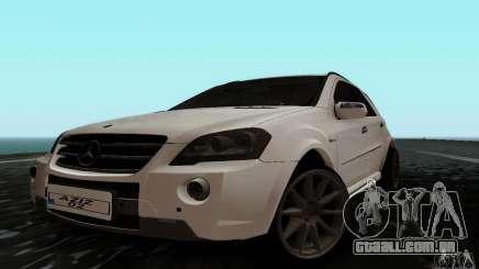 Mercedes Benz ML63 AMG para GTA San Andreas