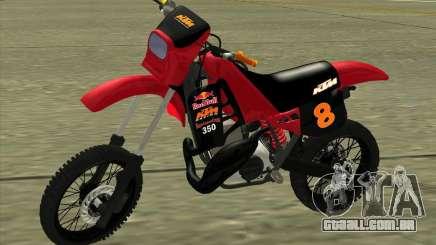 KTM 350 Redbull para GTA San Andreas