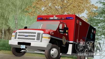 Ford E-350 AMR. Bone County Ambulance para GTA San Andreas