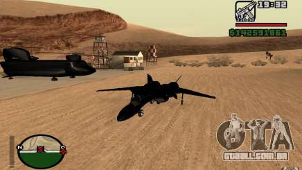 Y-f19 macross Fighter para GTA San Andreas