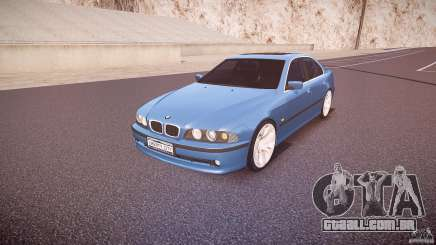 BMW 530I E39 e63 white wheels para GTA 4